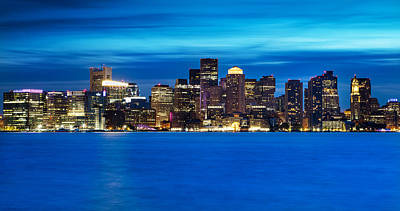 Photograph - Boston Blue by Christopher Villandry