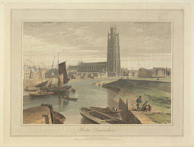 Boston Art Print by British Library