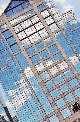 Photograph - Boston Building Abstract by Marianne Campolongo
