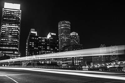 Photograph - Boston Car Streak  by John McGraw