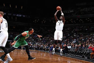 Photograph - Boston Celtics V Brooklyn Nets by Nathaniel S. Butler