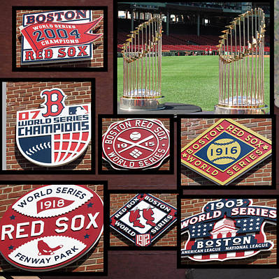 Photograph - Boston Champs by Barbara McDevitt