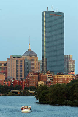 Boston Charles River Family Fun Art Print by Juergen Roth