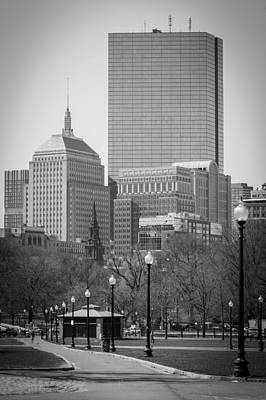 Boston Common Art Print