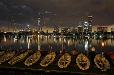 Charles River Photograph - Boston Dark Skies by Juergen Roth