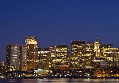 Redsox Photograph - Boston Downtown by Mohammed Chioukh