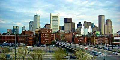 Photograph - Boston Downtown by Ricardo J Ruiz de Porras