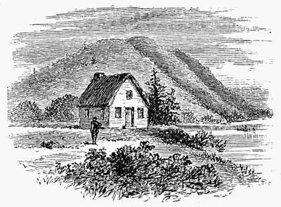 Painting - Boston Early Settlement by Granger