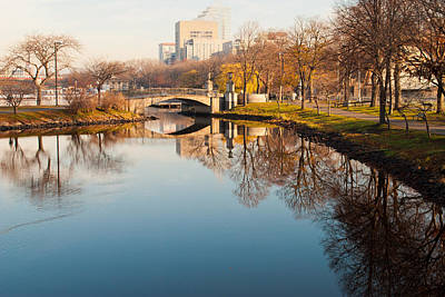 Boston Esplanade Art Print by Lee Costa