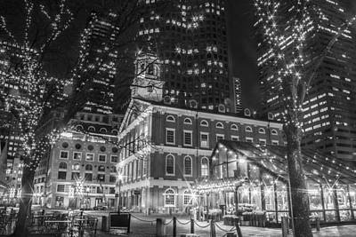 Photograph - Boston Faneuil Hall  by John McGraw