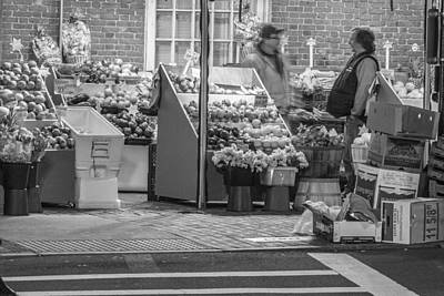 Photograph - Boston Farmers Market  by John McGraw