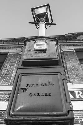Photograph - Boston Fire Box by John McGraw
