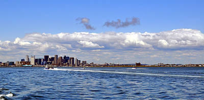 Photograph - Boston From The Atlantic by Staci Bigelow
