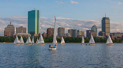 Photograph - Boston From The Charles by Brian MacLean
