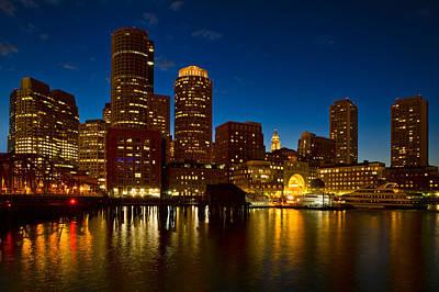 Photograph - Boston Gold by Michael Blanchette