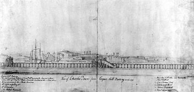 Photograph - Boston Harbor, 1778 by Granger