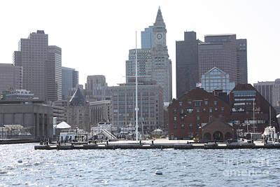 Photograph - Boston Harbor by John Telfer