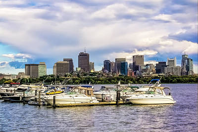 Photograph - Boston Harbor by Maria Coulson