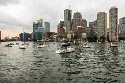 Whalen Photograph - Boston Harbor One by Josh Whalen