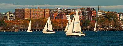 Photograph - Boston Harbor by Paul Mangold