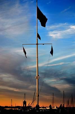 Photograph - Boston Harbor Twilight by Jatinkumar Thakkar