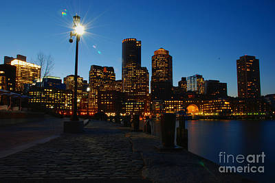 Boston Harbour Art Print