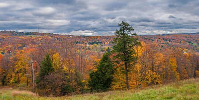 Photograph - Boston Hills In Autumn by Guy Whiteley