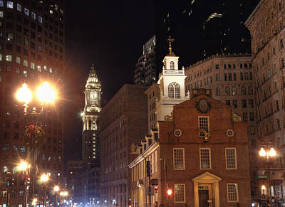 Photograph - Boston History by Joann Vitali