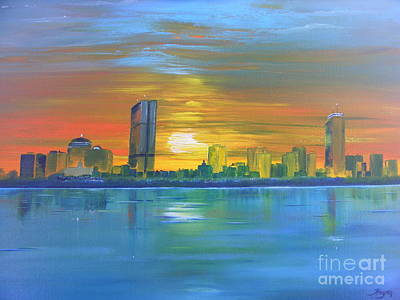Painting - Boston II by Barbara Hayes