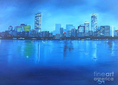 Painting - Boston IIi by Barbara Hayes