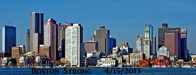 Photograph - Boston Is Strong  by Caroline Stella