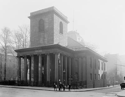 Photograph - Boston King's Chapel by Granger