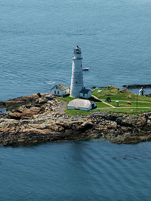 Photograph - Boston Light by Joshua House