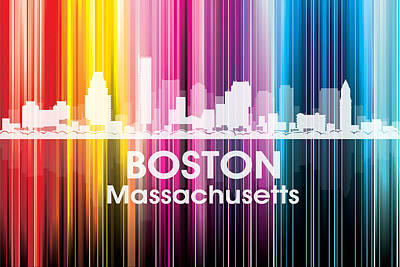 Digital Art - Boston Ma 2 by Angelina Vick