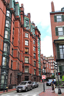 Photograph - Boston Ma Neighborhood by Staci Bigelow