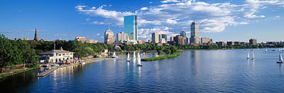 Charles River Photograph - Boston, Massachusetts, Usa by Panoramic Images