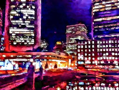 Boston Nights 2 Art Print by Yury Malkov