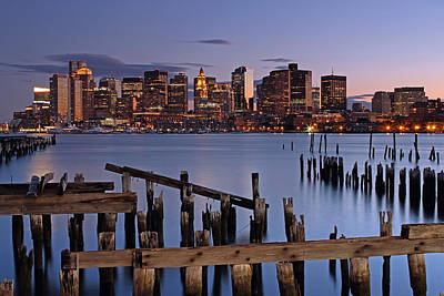 Cityscape Photograph - Boston One Of A Kind by Juergen Roth
