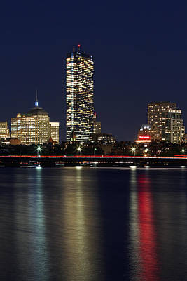 Charles River Photograph - Boston Proud by Juergen Roth