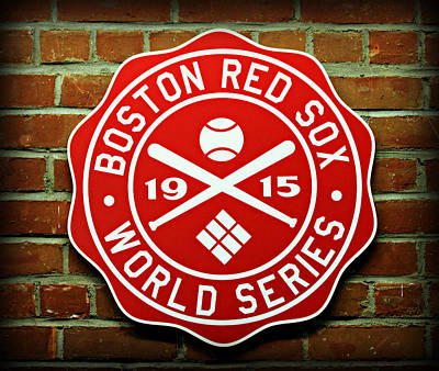 Boston Red Sox 1915 World Champions Print by Stephen Stookey