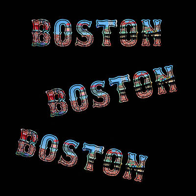 Boston Red Sox Duvet Art Print