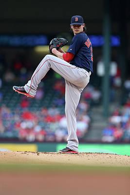 Photograph - Boston Red Sox V Texas Rangers by Ronald Martinez
