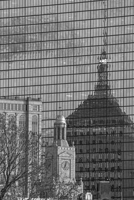 Photograph - Boston Reflection by John McGraw