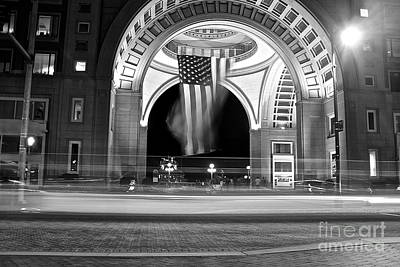 Photograph - Boston Rowes Wharf by Amazing Jules