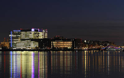Vertex Photograph - Boston Seaport District by Juergen Roth