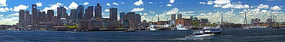 Photograph - Boston Skyline 058 by Jeff Stallard