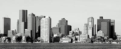 Photograph - Boston Skyline  1 by Caroline Stella
