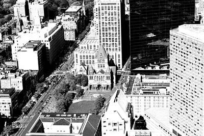 Boston Photograph - Boston Skyline 3 by Elizabeth Cadwell
