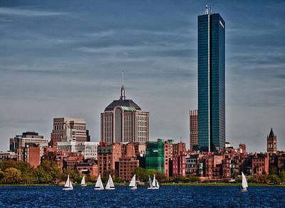 Photograph - Boston Skyline by Paul Miller