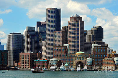 Photograph - Boston Skyline by Randi Grace Nilsberg